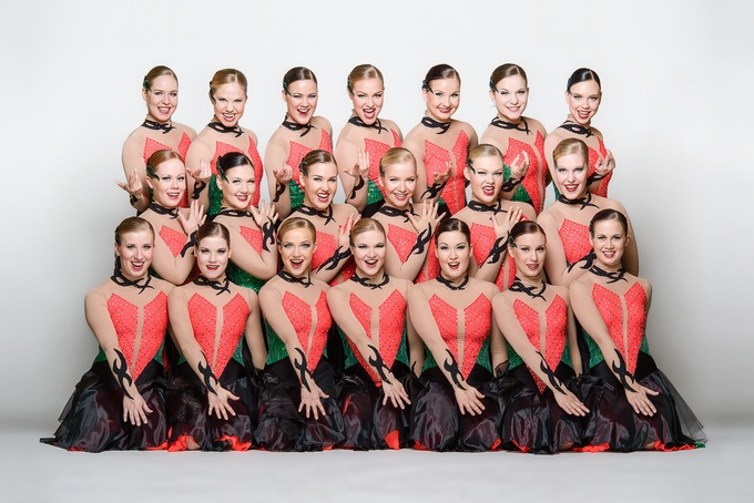 FIN Rockettes short program