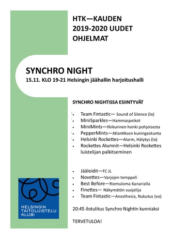 Synchro Night 2019