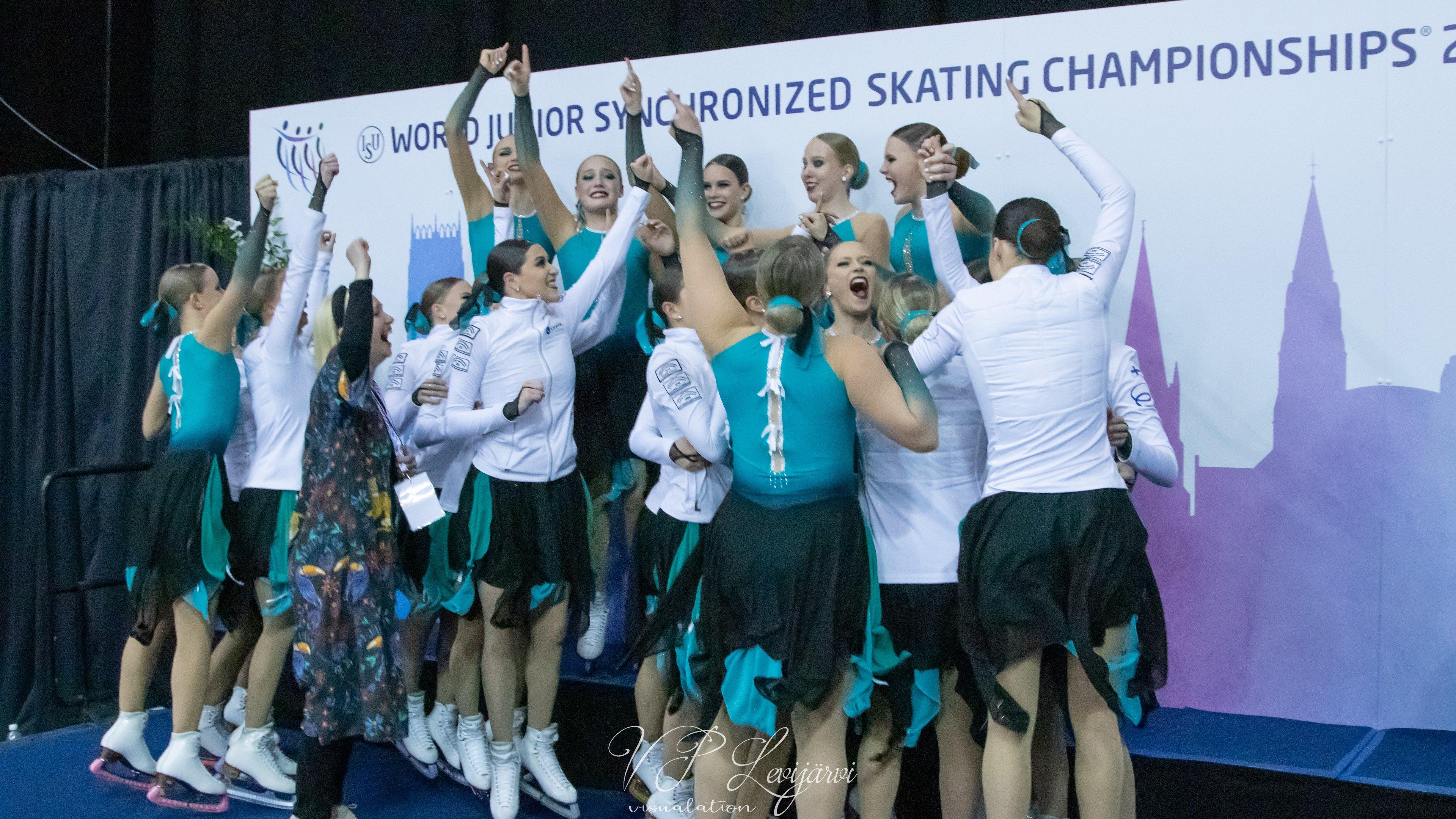 Maailmanmestari Team Fintastic ehdolla vuoden joukkueeksi
